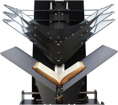 Cobra A2 V-scan bookscanner conservation approved cradle