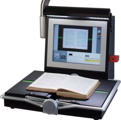 book2net Spirit A3 book scanner for libraries entry level